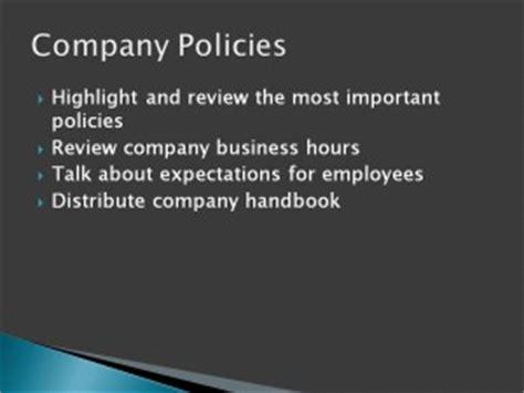 employee orientation powerpoint template
