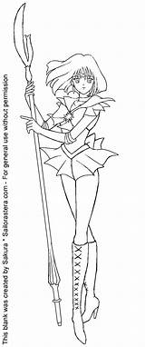 Coloring Sailor Saturn Moon Pages Anime Card Line Fanart Books Sheets Popular Astera Library Clipart Venus Coloringhome Clip Pokemon sketch template