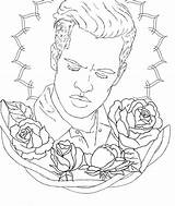 Coloring Disco Panic Urie Brendon Colouring Similar Getcolorings Printable sketch template