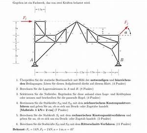 Fachwerk Berechnen : fachwerk lagerkr fte berechnen und nullst be erkennen nanolounge ~ Themetempest.com Abrechnung