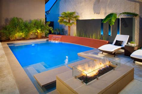 spectacular pictures  pools   fire pit outdoor