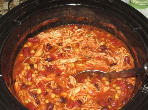crockpot chicken chili kristi in the kitchen crock pot chicken chili