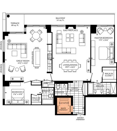 floor plans  davies luxury condo