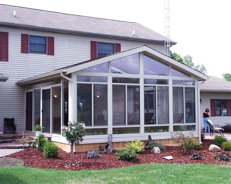 All Glass Sunroom by Eagle Windows Doors And Four Season Sun Rooms