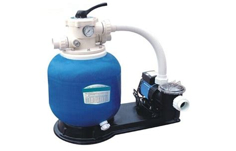 Fiberglass Swimming Pool Sand Filters With Pump For Ponds