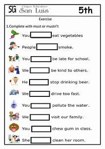 Worksheet, Must