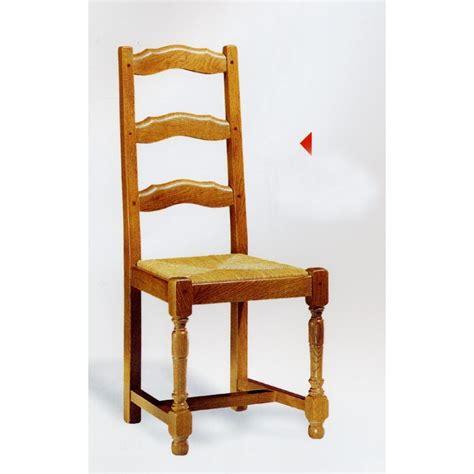 chaise en chene chaise cagnarde en chêne n 2 meubles de normandie