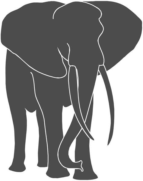 pin  nancy  fun   family elephant silhouette