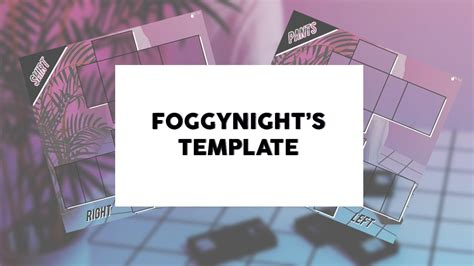 roblox template design foggynights request youtube