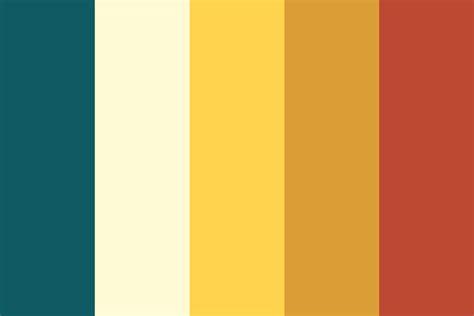 honey color honey pot color palette