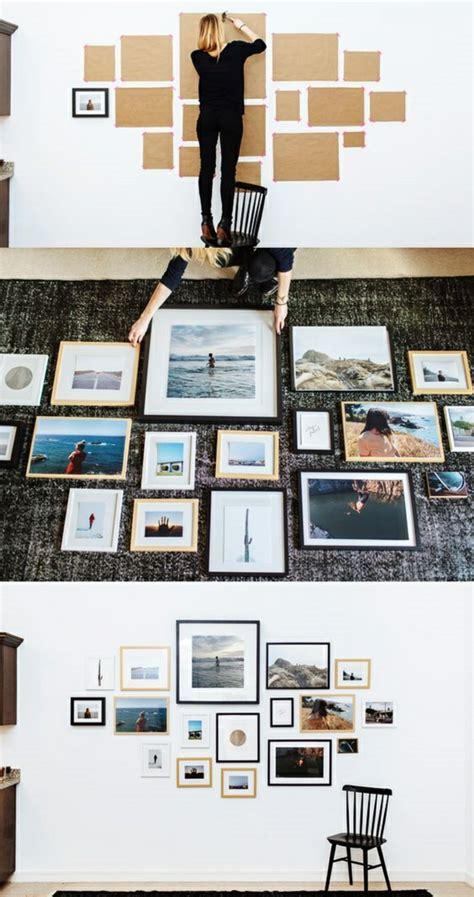 Wandgestaltung Mit Bildern by Fotowand Selber Machen Ideen F 252 R Eine Kreative Wandgestaltung