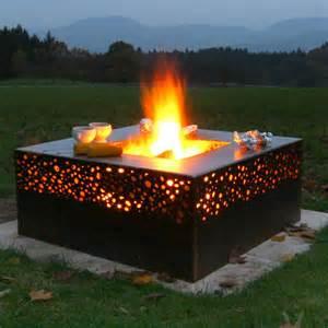 feuerschale design feuerschale grill geniessen sie den romantischen flair
