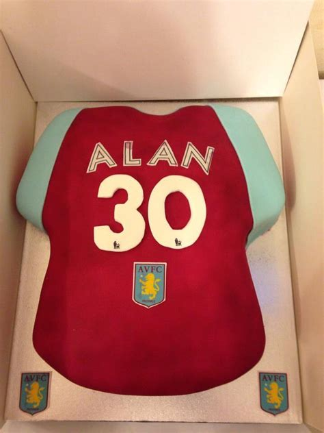 aston villa cakes images  pinterest aston