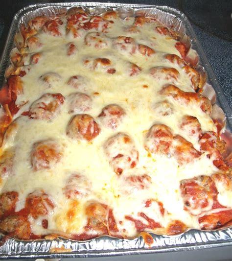 meatball casserole meatball sub casserole craftycreativekathy
