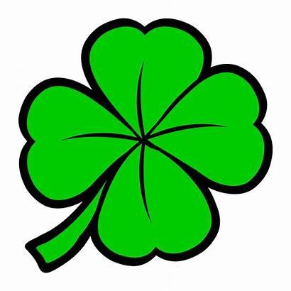 Clover Lucky Leaf Clipart Irish St Patrick