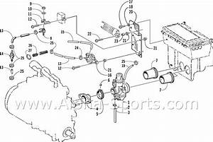 Arctic Cat 400 Carburetor Parts Diagram