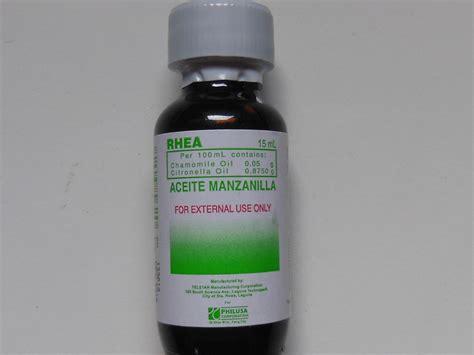 Aceite Manzanilla 15ml Chamomile Citronella 15ml Bag