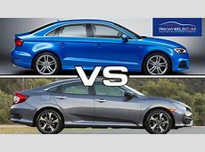 2016 Honda Civic VS Audi A3 But is it Fair to Compare them?