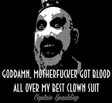 Rob Zombie Memes - 74 best captain spaulding images on pinterest rob zombie zombies and horror movies
