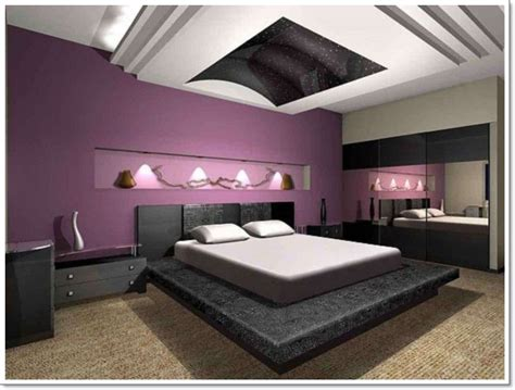 Bedroom Ideas Black White And Purple by 35 Inspirational Purple Bedroom Design Ideas