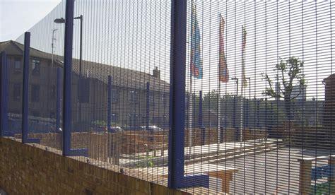 security fencing steel palisade fencing welded mesh