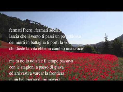 La Di Piero Testo by La Di Piero Elettrolab Testo Fabrizio