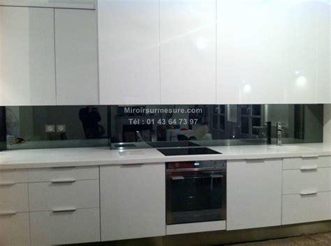 cr ence miroir pour cuisine superbe credence miroir pour cuisine 1 cr233dence en