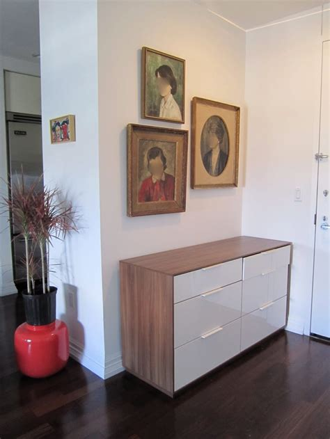 Ikea Nyvoll Dresser by Nyvoll Six Drawer Dresser In The Entry I K E A F I N D S