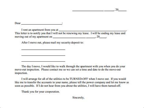 apartment lease termination letter 7 apartment lease termination letters sample templates 20474 | Apartment Rent Termination Letter1