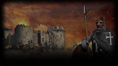 Crusader Background Stronghold Lionheart Richard Steam Templar
