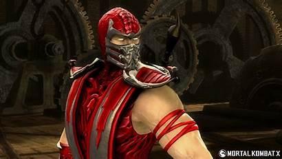 Mortal Scorpion Kombat Skin Costume Wallpapers Edition