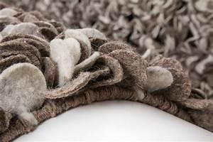 Teppich Wolle Grau : langflor teppich modern hangewebt teppiche hochflor filz wolle grau 120x170 ebay ~ Watch28wear.com Haus und Dekorationen