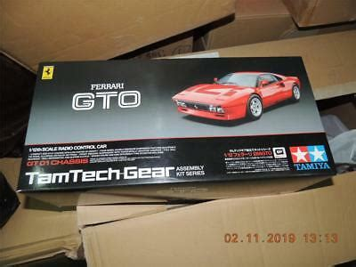 Tamiyaclub is a community site for collectors of vintage and contemporary tamiya models. TAMIYA R/C 1/12 TAMTECH GEAR FERRARI 288 GTO GT01 KIT #57103 | eBay