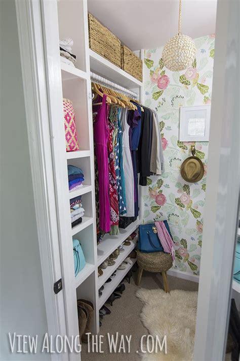 stunning diy closet makeover on a small budget check