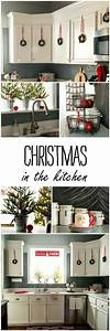 1000 ideas about christmas home decorating on pinterest With kitchen cabinets lowes with large christmas wall art