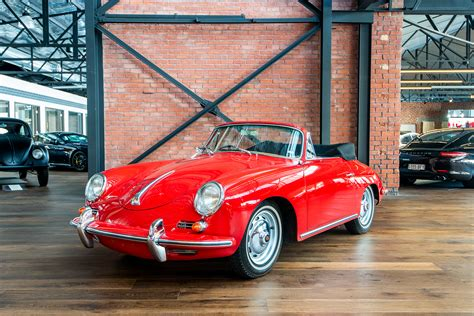 1961 Porsche 356B Cabriolet - Richmonds - Classic and ...