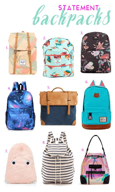 school statement backpacks michelle phan