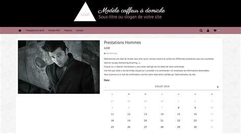 Créer Un Site Internet De Coiffeur à Domicile 6temflex