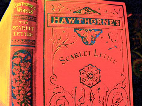 hawthorne scarlet letter tbt when quot the scarlet letter quot was published 29103