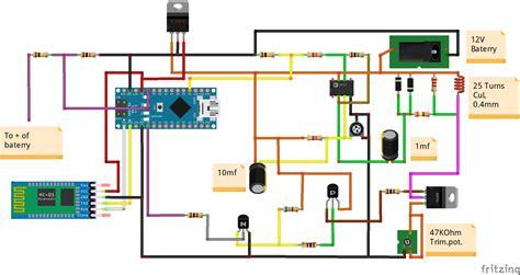 diy arduino based pulse induction metal detector hackster io
