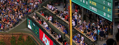 cubs budweiser patio chicago cubs