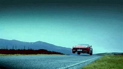 Gear Ferrari Slow Motion Gifs Jump F12
