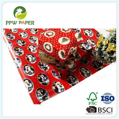 christmas types  gift wrapping paper roll buy types