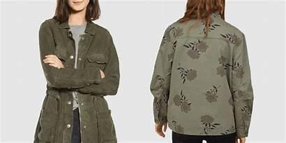 Utility Jacket Jackets Cargo Womens Crop