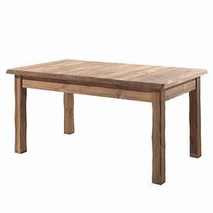 Table Bois Rectangulaire : table rectangulaire en bois massif bross l 39 ancienne ~ Teatrodelosmanantiales.com Idées de Décoration