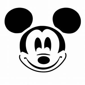 Mickey Mouse Ears Template - Cliparts.co
