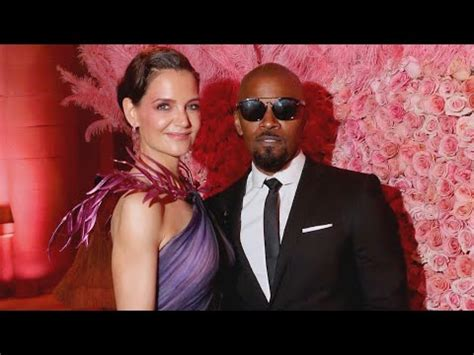 Katie holmes jamie foxx married, report includes: contact ...