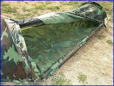 woodland camo  man survival tent camouflage bivouac bug  compact shelter  small camping tents
