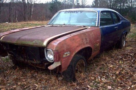 chevy nova hatchback project car  sale
