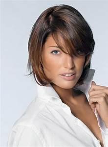 Frange Cheveux Long : coupe de cheveux femme mi long avec frange ~ Melissatoandfro.com Idées de Décoration